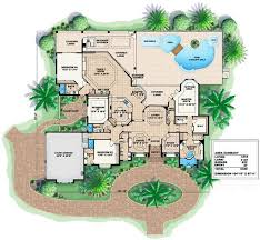 Mediterranean Floor Plan 567 Best House Plans Images On Pinterest Mediterranean House