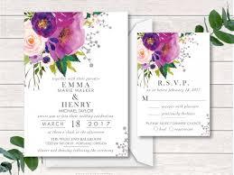 digital wedding invitations digital wedding invitation wedding invitation suite printable