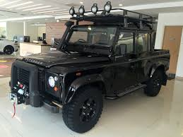 land rover defender 2015 black land rover defender limited edition launched in m u0027sia