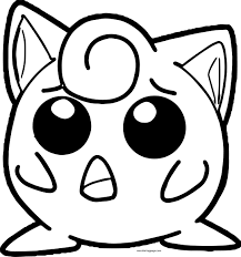 jigglypuff coloring pages wecoloringpage