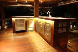 Exotic Wood Kitchen Cabinets Outdoor Bar On Ipe Wood Deck The Bar Base Is Ipe Exotic Hardwood