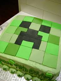 7 best birthday cake ideas images on pinterest minecraft party