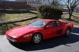 1989 testarossa for sale testarossa for sale carsforsale com