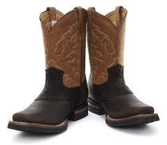 grinders frontier brown mens western cowboy boots amazon co uk