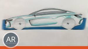 auto design studium autos zeichnen lernen auto design car design mappenkurs