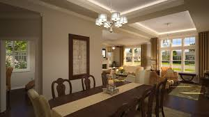 interior design beautiful dining room with best lighting ideas