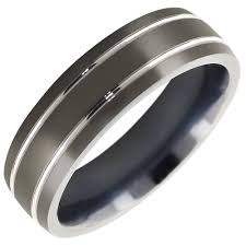 mens titanium wedding band best ideas of black titanium wedding bands for men