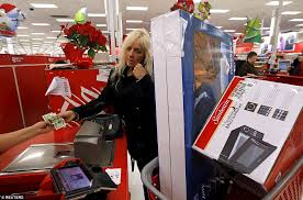 black friday target shoppers thanksgiving night chaos turns to black friday calm as bargain