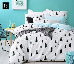 Single Bed Sets Count Density Cotton Duvet Covers Set Black Bedding Set