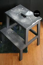 Ikea Stepping Stool The Interior Diyer Ikea Bekvam Step Stool Gets A Faux Marble Makeover
