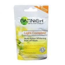 Masker Garnier Lemon 30 merk masker pemutih wajah alami terbaik dan harganya
