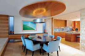 dining room ceiling ideas modern dining room with wrapped ceiling design dining room and
