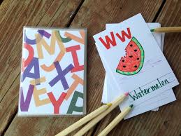 diy alphabet book baby shower activity primary colors