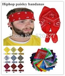 bandana wristband high quality hiphop style paisley bandanas cotton wrap scarves