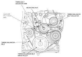 2003 honda accord v6 timing belt replacement how install tension pully on 92 accord ex i try it smoke coming