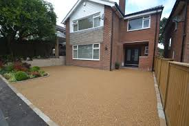 Pea Gravel And Epoxy Patio by Driveways Cheshire And Garden Design Cheshire Based In Bramhall