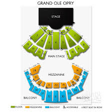 ryman seating map grand ole opry a seating guide to nashville s most