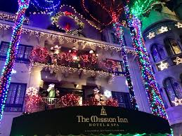 christmas lights riverside ca the mission inn holiday lights riverside california