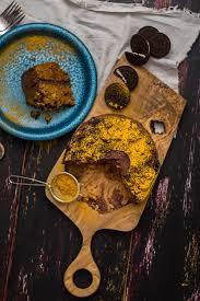 banana turmeric chocolate cake give recipe