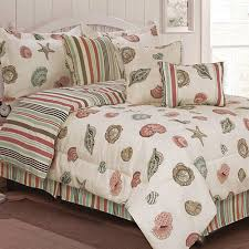 Seashell Duvet Cover Beach Comforters U0026 Quilts U2013 Ease Bedding With Style