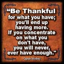 oprah winfrey s thanksgiving quote compliments of karla brandau