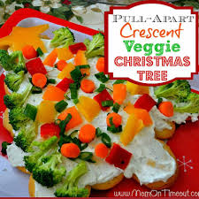 crescent veggie christmas tree recipe mom on timeout
