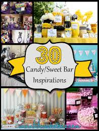 of the best candy sweet bar party ideas