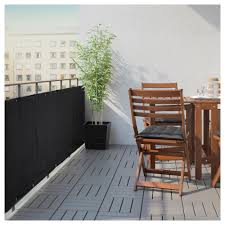 dyning balcony privacy screen white ikea