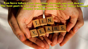 101 Happy Wedding Marriage Anniversary Wishes 10th Wedding Anniversary Wishes Youtube