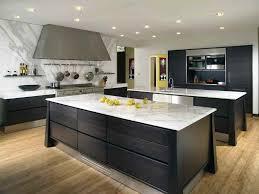 open plan kitchen island elegant interior decoration modern open