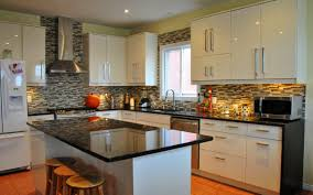 Backsplashes For Kitchens With Granite Countertops by Kitchen Best Flawless Kitchen Countertops And Kitchen Backsplash