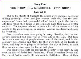 the story of a wonderful baby s birth jesus korner