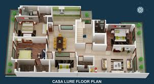 typical floor plan casa lure independent floors in gurgaon builder floors in gurgaon