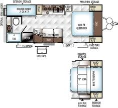 rockwood trailers floor plans 2016 forest river rockwood mini lite 2306 travel trailer tulsa ok