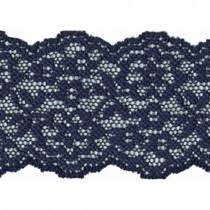 navy blue lace ribbon 1 7 8 getting crafty stretch lace lace trim and