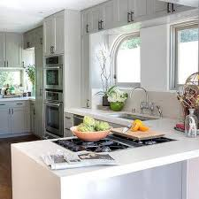 Counter Kitchen Design Small Kitchen Peninsula Design Ideas