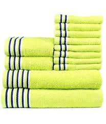 Lacoste Bathroom Set Neon Green Towels Bath Towels Target Neon Green Elite Microfiber