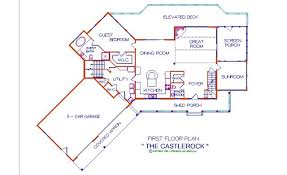 floor plans for log homes castlerock log floor plan log cabin 4261 sq ft expedition log