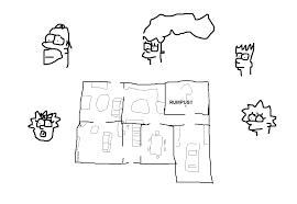 Simpsons Floor Plan Simpson House Floor Plan House Design Plans