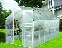 Backyard Green House by 12x6 Ft Modular Small Diy Backyard Greenhouse Kits With Powder