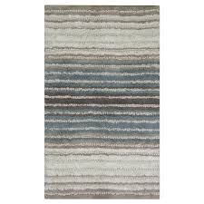 Mohawk Bathroom Rugs Mohawk Bath Rug Watercolor Neutral Blue 24 X 40 Meijer