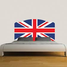 Headboard Wall Sticker by British Flag Headboard Mural Decal Headboard Wall Decal Murals