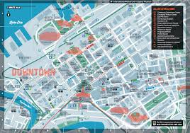 Cleveland Map Destination Cleveland Downtown Map Mfa Thesis Pinterest