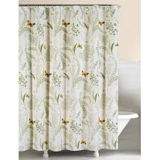 fern garden shower curtain sturbridge yankee workshop