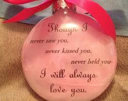 infant loss ornament yes i will picmia
