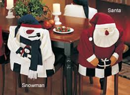 snowman chair covers shopping cart