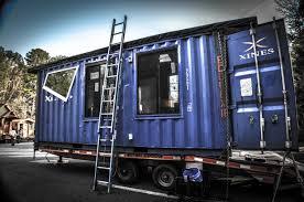 d i von briesen u0027s eco box a shipping container home small