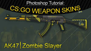 photoshop tutorial how to make your own cs go weapon skin start
