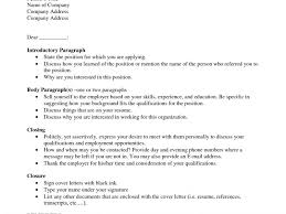 cover letter referred by 5 samples for resume cover letter when