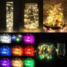 christmas garland battery operated led lights 5m 50 led battery operated led copper wire string lights for xmas